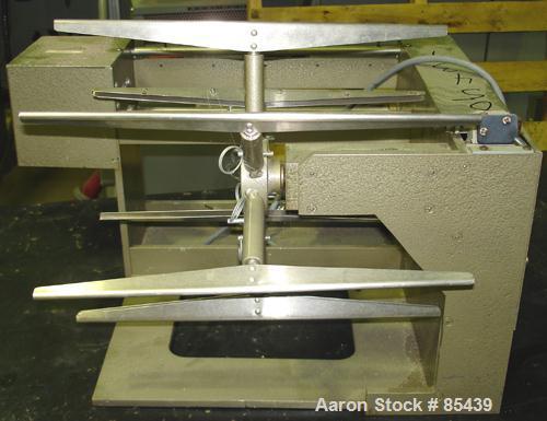 """Used- Alfred Suter Yarn Reel. 12"""" diameter wheel. 1/30 hp, 1/60/115 volt, 1700 rpm motor."""