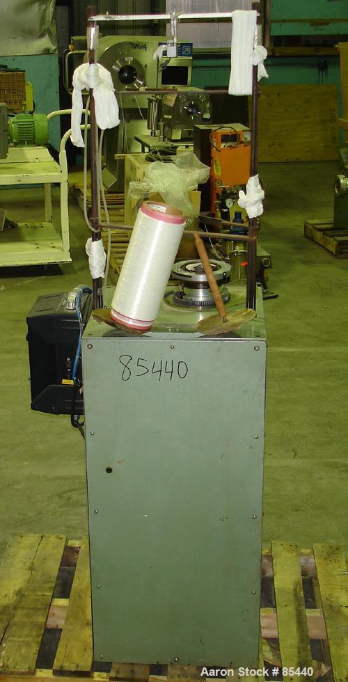 "Used- Carolina Lab Knitter, Model LK-100. 3-1/2"" diameter, 50 gauge, 240 needles. Includes a VE Plus motor control."
