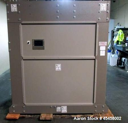 """Used-Milnor washer-extractor, model 42032 X7J, 170 lb capacity, 24""""opening,  42"""" diameter x 32"""" deep chamber, 25.7 cu ft cyl..."""