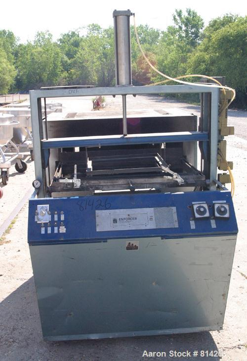 "Used- AAA Plastic Equipment Machine Enforcer Thermoformer, Model MBD2436A. 24"" x 36"" single station, 3/60/440 volt."