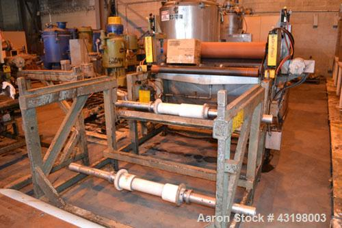 Used- Brown C Series Thermoformer, Model CS-2100. Rates up to 35 machine cycles per minute. Maximum mold size 25'' wide x 26...
