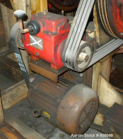 Used- Brown Machine Trim Press , Model TP35.