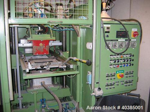 """Used-Keifel lab size thermoformer, type KD20-25. Material of construction is stainless steel on product contact parts. 19.6""""..."""