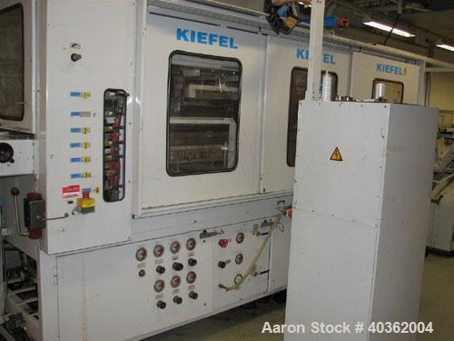 "Used- Kiefel Thermoformer, Model KL 52 BFS. Thermoform dimensions of tool: minimum 10.14"" x 7.8"" (260 x 200mm); maximum 20.3..."