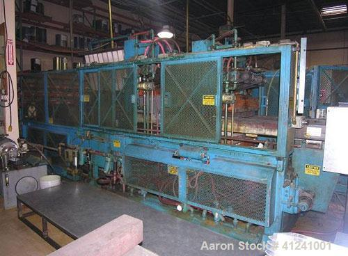 "Used- Lyle Thermoformer, Model 125-FT. Maximum mold width 25"", oven type - 2 side heaters (calrod), panel heaters, 3 zones t..."