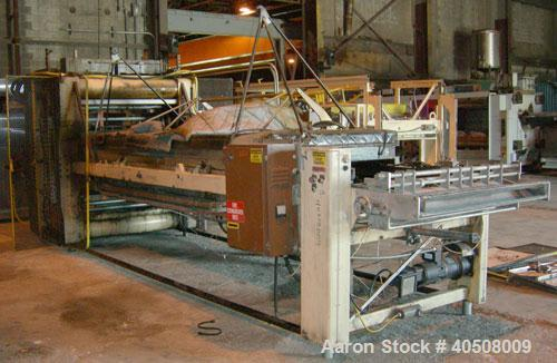 Used- Irwin Research and Development Thermoformer, Model 50-40-10-S2D. Heat tunnel model HT-LH 50-160, approximately 51'' wi...