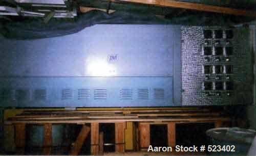 Used- PlastiVac Inc (PVI) Single Station Thermoformer, Model 9120XT-DP. 9' x 12' molding area. Calrod oven top and bottom.4 ...