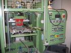 Used-Keifel lab size thermoformer, type KD20-25. Material of construction is stainless steel on product contact parts. 19.6