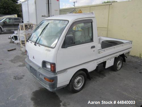 Used- Mitsubishi V-U42THNDV Utility Vehicle