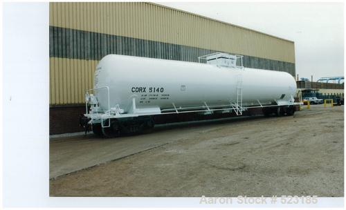 USED: Union tank car, 20,886 gallon, type 304L stainless steel rail car. Classification #115A60W6. Inner tank is type 304L s...