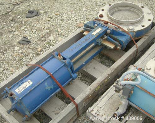 """Used-Dezurik 12"""" diameter slide gate valve. Pneumatic."""