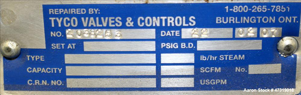 "Used- Crane Manual Gate Valve, 12"" Diameter, Class 125, Carbon Steel."