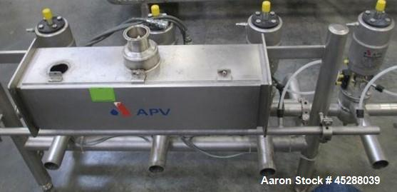Used- AVP Pressure Regulation Skid with (4) Rosista Series Air Pressure Regulato