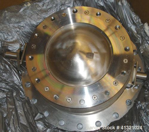 Used- Gemco Valve, Stainless Steel. 12'' Diameter with approximate 17'' bolt circle.