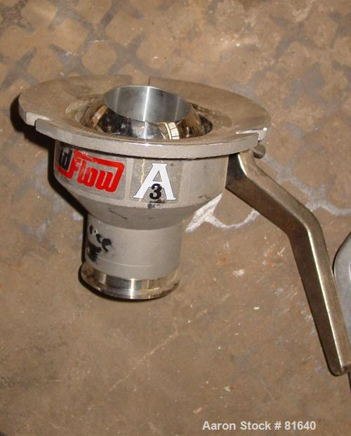 "USED: Lee 1-1/2"" ball valve."