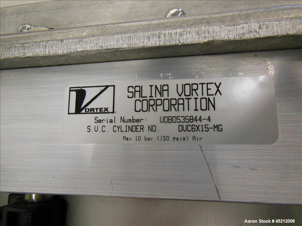 Unused- Salina Vortex Quantum Series Pneumatic Orifice Gate Valve, Model GRA14-H