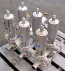Used- Sanitary Valve Bank, 316 Stainless Steel, Consisting Of: (6) Sudmo 2