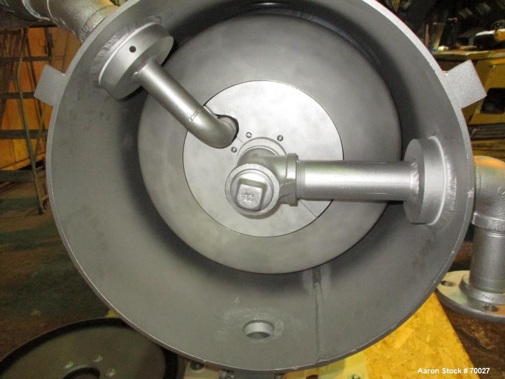Used- Stainless Steel Cornell Versator, Model D-16