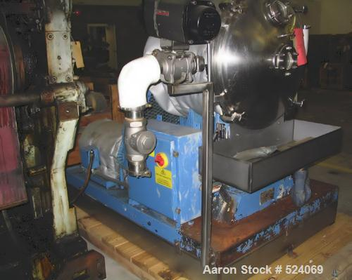 USED: Stainless steel sanitary Versator by Cornell Machine Company,model D-26. Features production rating of 5 to 125 gpm, 4...