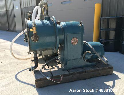 "Used- Cornell Machine Co. Vesator, Model D16. 16 D c/s Versator 17.5"" x 7.5"" id, o/a 22"" x 48"" x 52"" (2)1.25"" in/out, (2) 2""..."