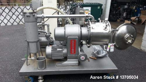 Used- Cornell Versator, Model #D-16, 316 Sanitary Stainless Steel