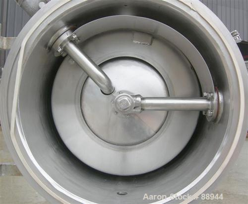 "Used- Cornell Versator, Model D-16, 316 Stainless Steel. 16"" Diameter disc, rated 1200-4000 rpm, 1-20 gallons per minute. Cl..."