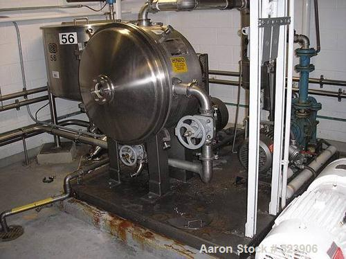 USED: Cornell model D-26 Versator. Sanitary stainless steelconstruction, sanitary connections, driven by a variable speedmot...
