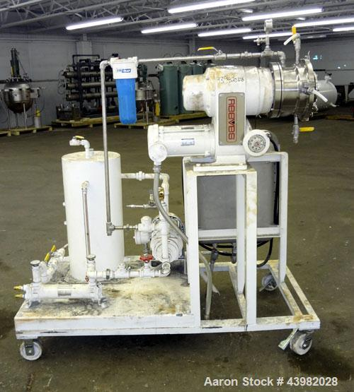 "Used- Cornell Machine Versator, Model D-8, 316 Stainless Steel. 8"" Diameter disc, rated 2000-6000 rpm, up to 2 gallons per m..."