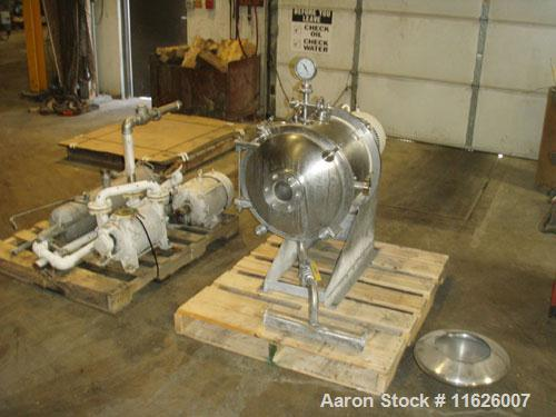 Used- Cornell Versator D16. 10 hp, 3/60/230-460 volt motor. Comes with a Sihi vacuum pump with 7.5 hp motor.