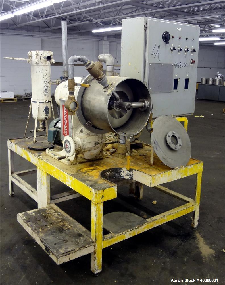 Used- Stainless Steel Cornell Versator, Model D16