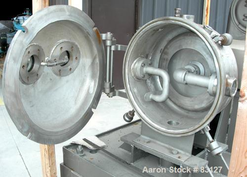Used- Stainless Steel Cornell Versator, Model D16
