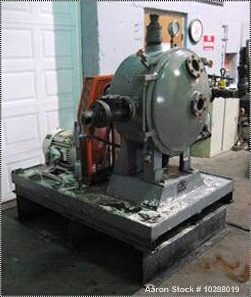 Used-Cornell Versator Model D26 SN-9187, stainless steel with vacuum pump. Stainless steel contact parts. Front hinged cover...