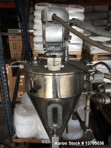 "Used- Fryma Model VE-1 Deaerator. Sanitary stainless steel construction, 12"" diameter disc. Unit self contained with vacuum ..."