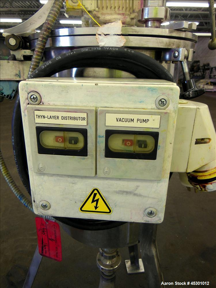 Used- Stainless Fryma Vacuum Deaerator, Model VE I