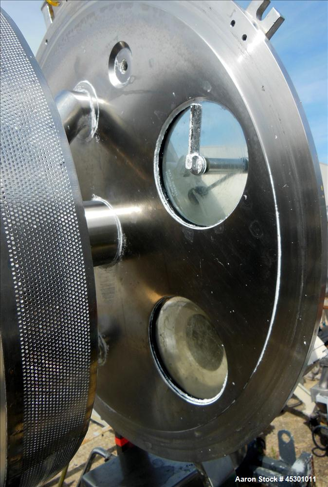 Used- Stainless Steel Fryma Vacuum Deaerator, Model VE II