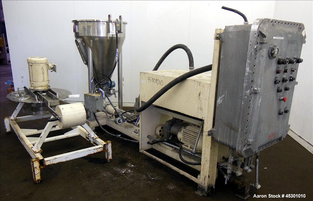 Used- Stainless Steel Fryma Vacuum Deaeration Unit, Model VE III