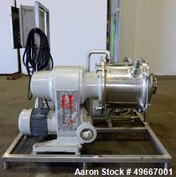Used-CORNELL Versator Model D16 Stainless Steel Capacity 1-20 GPM. Unitized on base Includes Vacuum Pump & Control Panel