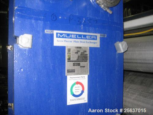 Used- Reverse Osmosis System.  Rated 500 to 800 GPM  Skid mounted.