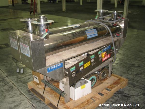 Used- Aquafine UV filter system, model UV-3UV2
