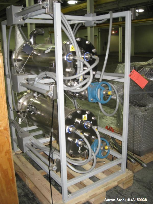 Used-MECO UV filtration system, 3 stages.