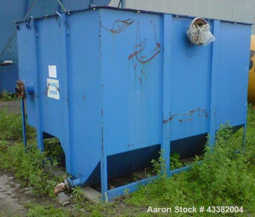 Used-Great Lakes Clarifier.  7' L-R, 7' B-F, 5' High.  Carbons steel.