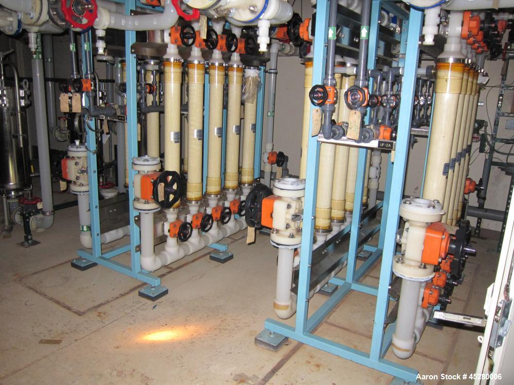 Used-Nitto-Denko Hydranautic Filter System