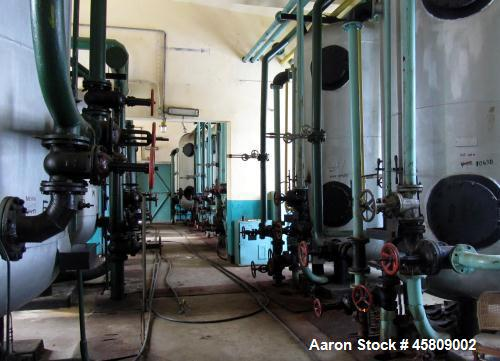 Used-ICPTR Ploiesti Water Cleaning Unit.  Physical-chemical and biological cleaning treats refinery wastewater.  Water from ...