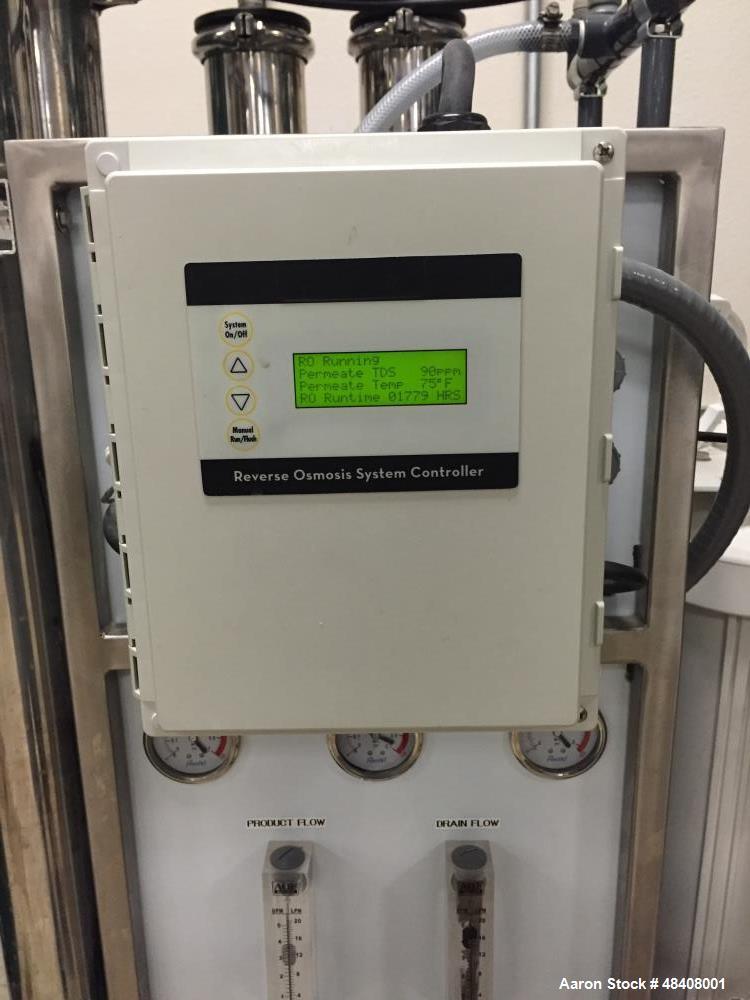 Used- DRO-5000 RO 1000 Reclaim System . PLC Controller.