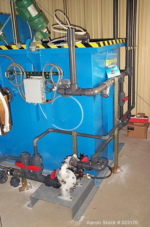 USED: Dissolved air flotation system, includes the following: HydroFlo DAD HF-15 and recycle unit RAD 15, carbon steel DAF u...