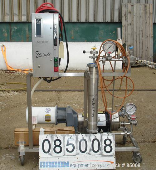 """USED- Reverse Osmosis System Consisting Of: (1) Hydra-Cell diaphragm pump, model D25, 316 stainless steel. 2"""" NPT inlet, 1-5..."""