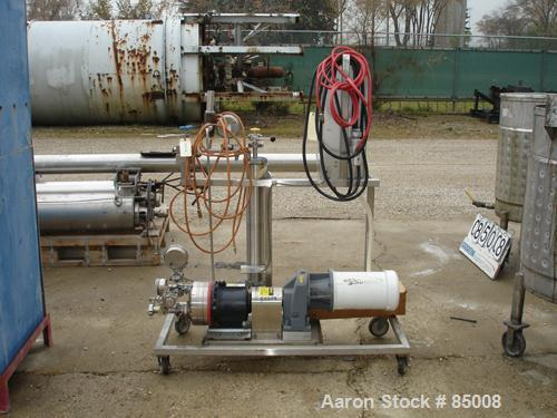 "USED- Reverse Osmosis System Consisting Of: (1) Hydra-Cell diaphragm pump, model D25, 316 stainless steel. 2"" NPT inlet, 1-5..."