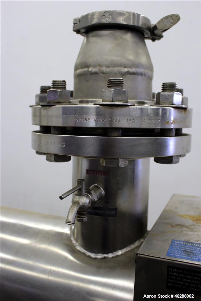 Used- Aquafine Ultraviolet Sterilizer, Model CSL-10R/60
