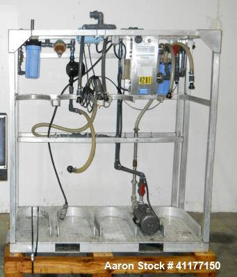 Used- Stainless Steel Aquafine Ultraviolet Sterilizer, Model SL-10A