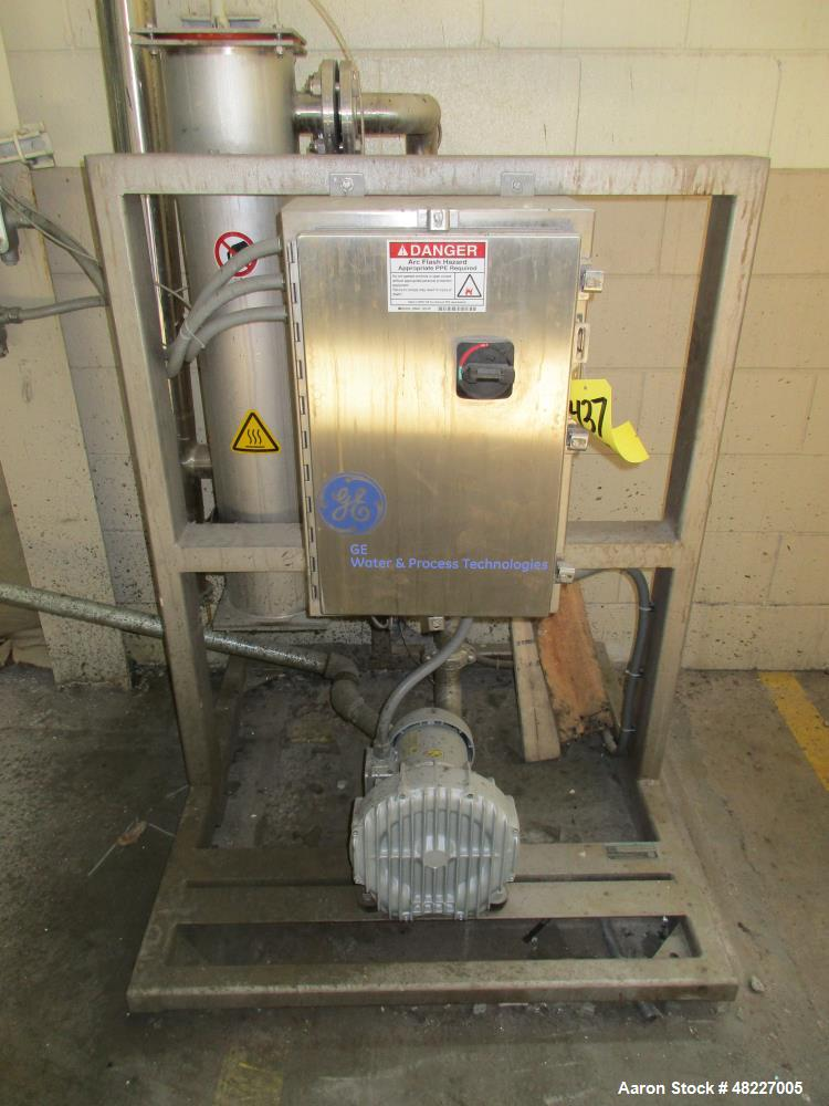 Used-GE Water Filter System, Model CDM50.50CFM.400V, S/N 08-1231904-01